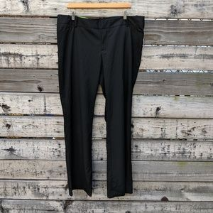 NWT Mossimo Black Dress Pants Fit 3 Size 16